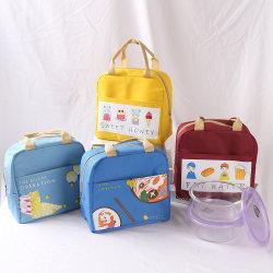 شعار مخصص شعار لطيف رسوم كاريكاتورية شخصية حقيبة غداء الحفاظ على الأطفال الطازجة حقيبة معزولة صندوق حقيبة بالجملة السعر