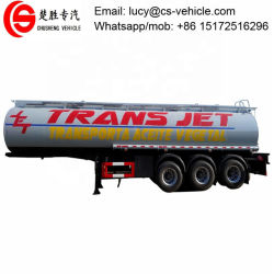 45000 litres semi-remorque de réservoir de carburant