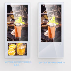 LCD van 21.5 Duim Digitale Signage van de Lift