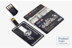 Подарок рекламных кредитную карту USB Memory Stick™ 128 МБ, 512 МБ, 1 ГБ 2 ГБ