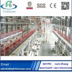 販売のための実綿の処理機械を完了しなさい
