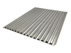 Gewölbte gewölbte Aluminiumplatte H14 des Dach-Blatt-Baumaterial-3003