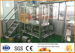 Grosse Kapazitäts-automatischer Riemen-Typ Fruchtsaft-Extraktionsmaschine-Tomate-Ketschup-aufbereitende Maschinen-manueller Saft-Zange-Fruchtjuicer-Zange-Saft und Stau
