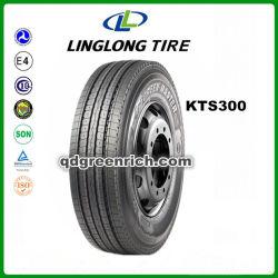 Fabrication de pneus de marque Linglong, commerce de gros pneus utilisés en Allemagne, 315/80R22.5 KTS300 Les pneus de camion pour les ventes