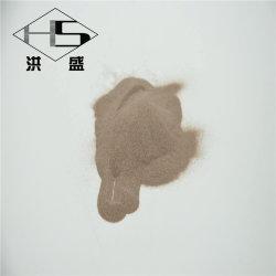 95%Brun de haute pureté Moulage de précision en aluminium fondu pour l'industrie/matériaux de bauxite