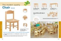 School Classroom Student Chair, Kids School Desk Chair, Kindergarten Children Multi-Function Table Chair, Solid Wooden Baby Chair