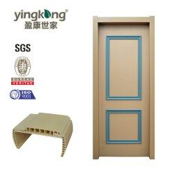Accueil de la sécurité de la mélamine de bois décoratifs en PVC Portes de la peau Yk637