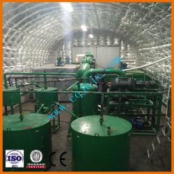 90% de rendimento em óleo de reciclagem de óleos usados para obter óleo Base com tecnologia de destilação de vácuo