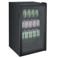 82L mini compteur refroidisseur de boissons pour le vin