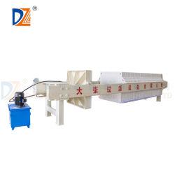 Prensa de filtro de aceite filtrado hidráulico