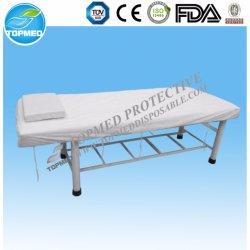 伸縮性があるシーツの寝具の製品が付いている使い捨て可能な生物分解性のNonwovenベッド・カバー