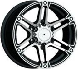 16-20道を離れたインチM/Tは販売18*9.5 15X8.0 22X9 17X9.0 17*9.0 1775 18*9.0 18*10.5 14*7.0 14X7.0の黒または機械銀製のクロムのための合金Makまたは作業車輪に縁を付ける