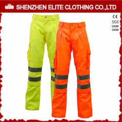 Jaune Orange Pantalon de sécurité réfléchissant étanche (ELTHVPI-25)