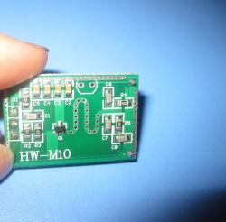 Hw-M10 Module de capteur de micro-ondes largement longtemps de la couverture de micro-ondes pour interrupteur des feux de capteur