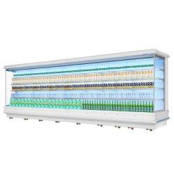 Supermercado Multideck Comerciales Abrir pantalla Vertical refrigerador congelador