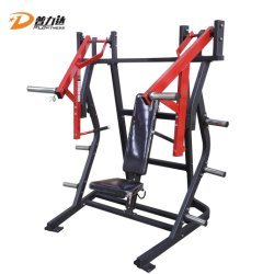 Коммерческие спортзал фитнес-пластины загрузить ISO - боковой подушки заднего многоместного нажмите оборудование