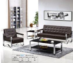 Hot canapé d'attente populaire Bureau de vente canapé en cuir 8801#