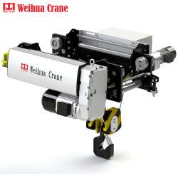 Weihuaのブランドのリモート・コントロール価格の軽量のヨーロッパ規格の電気起重機のトロリー