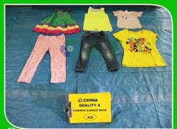 الجملة أزياء الدرجة الجودة ثياب اليد الثانية المستخدمة في الصيف النساء الملابس في البالات لبيع جيد