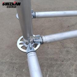 Hot Vente immeuble Ringlock système matériel d'échafaudage en aluminium