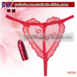Valentinsgruß-Geschenk-rote Spitze-Inner-Liebes-Partei Sexty Unterwäsche-reizvolles Kleid (W2005)
