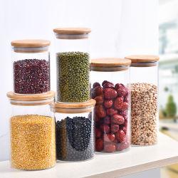 Frascos de vidrio sin plomo alimentos Hogar Cocina Botella de almacenamiento cristalería