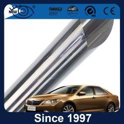 Haut de la fenêtre de voiture métalliques à isolation thermique solaire film teinté