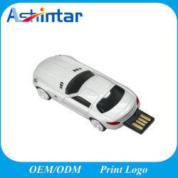 플라스틱 USB3.0 기억 장치 플래시 디스크 차 모양 USB 섬광 드라이브