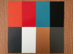 밝은 회색 컬러 코팅 알루미늄