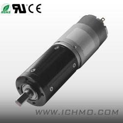 motore elettrico dell'alto di coppia di torsione 24V di 28mm attrezzo a bassa velocità di CC con la scatola ingranaggi planetaria