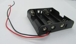 Batteriehalterung Bc4 '' AA '' 1.5V Schalter