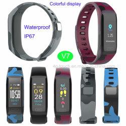Slim Cool Design Smart Bracelet avec le GPS Route historique
