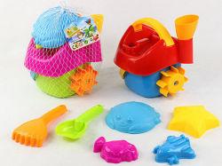Sommer-Spielzeug-Sand-Strand-Spielzeug-Haus-Form-Spiel eingestellt (H8291026)