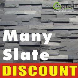 Carrelage en ardoise naturelle/Pierre de la culture/Ledge Stone/Copping tile/ Étape pour la sélection de matériaux de construction