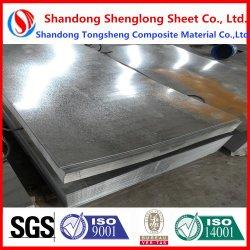 El material de construcción en caliente laminado en frío de cruce del techo de zinc de techos de metal corrugado Color prebarnizado PPGI PPGL recubierto de acero galvanizado Galvalume
