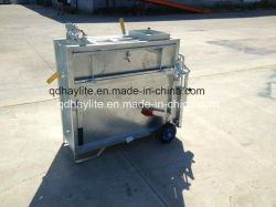 Le bétail de l'équipement mobile galvanisé Boîte de veau