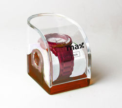 De duidelijke Plastic AcrylVitrine van de Riem van het Horloge