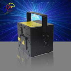 Multifunktions3w RGB Ableiter-Karten-Laserlicht für im Freienreklameanzeige