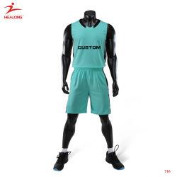 Estoque Healong seca respirável FIT basquetebol de alta qualidade Jersey