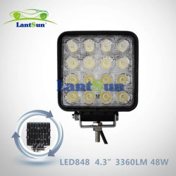 Ricambi auto 48W LED Work Light Car Spot Lighting per Truck
