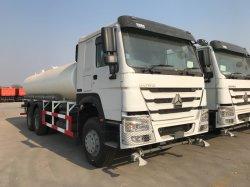 HOWO 6X4 336PS 20cbm camión tanque de agua