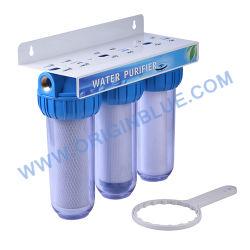 Drei Stadiums-Filtergehäuse-Wasser-Filtration-System