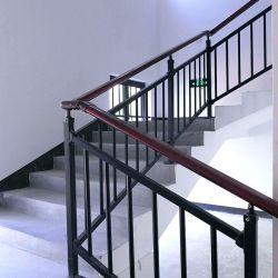 Asta della ringhiera dell'inferriata della scala del balcone dell'acciaio inossidabile del ferro saldato