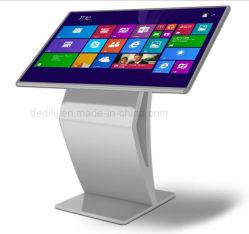 Einkaufszentrum-multi Media interaktiver LCD-Screen-Kiosk-/Touch Screen aller in einem PC Entwurfs-/Media-Bekanntmachenbildschirmanzeige-Totem