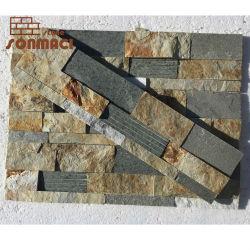 De Ardósia natural revestimento de paredes de pedra Exterior