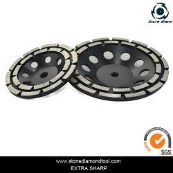 Dois Segmentos de Diamante Cup roda para betão de moagem