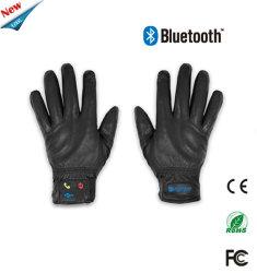 Рождественский подарок Electronics кожаные перчатки Bluetooth микрофона