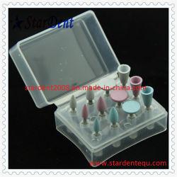 Kit de polimento de composto de borracha dentária de equipamentos dentários