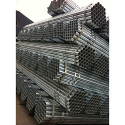 Fr39 4,0 et tuyaux en acier galvanisé Scaffodling 3,2 mm