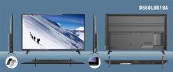 Ультра тонкий 75-дюймовый телевизор с Dled DVB-T2